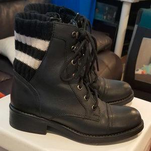 Steve Madden Azure Combat Boots - Size 7